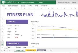 Workout Excel Template How To Create And Track Your Fitness Plan With Excel