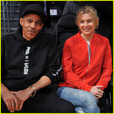 ellen pompeo u0026 husband chris ivery have a date night at the lakers
