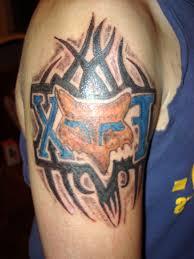 fox racing tattoos for cool tattoos bonbaden