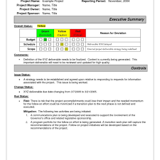 monthly management report template excel free and project