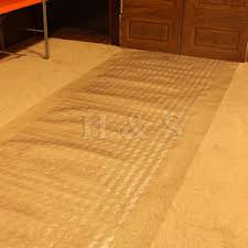 heavy duty vinyl plastic carpet protector runner office hallway