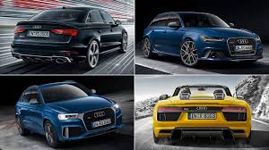 audi to add eight rs models by 2018 the drive