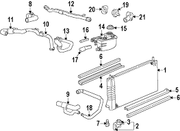 2000 ford focus cooling system diagram buy cooling radiator and components parts for crown ford