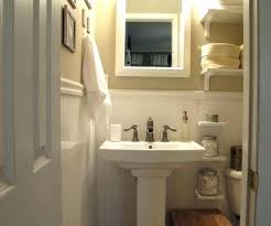 Bathroom Pedestal Sink Ideas Pedestal Sink Storage Ideas Skleprtv Info