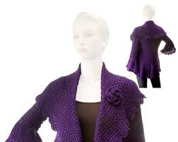 Cocoon Sweater Cardigan Cocoon Shrug Pattern Etsy