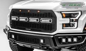 Ford Raptor White - t rex ford f 150 raptor revolver series bumper replacement