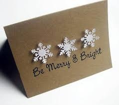 card snowflake be merry set of 8 such a cheery way to