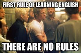 Meme English - my friends conclusion about learning english as a nd language meme guy