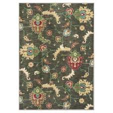 Modern Green Rug Olive Green Area Rugs Rugs The Home Depot