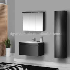 Hanging Bathroom Vanities High Gloss Black Bathroom Cabinet Wall Hanging Bathroom Vanities