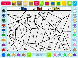 coloring pages fun math activity for the beginning of the