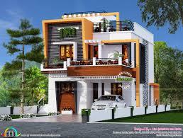 front elevation modern house home interior design plans home