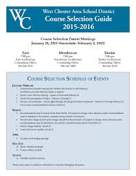 2015 2016 wcasd high course selection guide by wcasd issuu