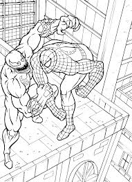 venom spiderman coloring free download