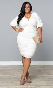 plus size white cocktail dresses kzdress