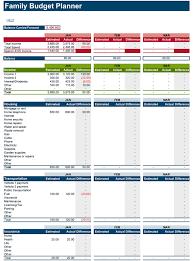 household budget template excel calendar template word