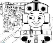 coloring pages free printable train coloring pages kids