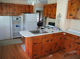 old wood kitchen cabinets inexpensively update old flat front
