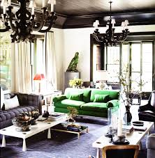 elle decor living rooms black and green room loversiq
