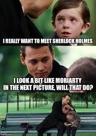 Johnny Depp Meme - johnny depp as moriarty imgflip