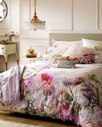 pure peony king size duvet cover dusky pink bed linen