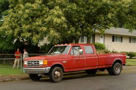 97 Ford F350 Truck Bed - old parked cars 1990 ford f350 custom crew cab dually diesel