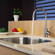 kraus kitchen faucet kraus kpf2160sd20 single lever stainless steel kitchen faucet with