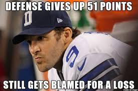 Romo Interception Meme - tony romo cowboys