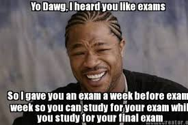 College Finals Meme - finals week meme edition my awkward college life