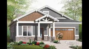 Craftsman Home Plan Craftsman House Plan Hahnow