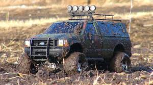 Old Ford Truck Kits - rc adventures mud bath for a ford f350 4x4 tamiya highlift