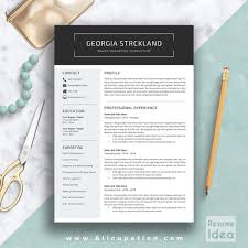 Resume Template Word Mac Creative Resume Template Modern Cv Template Word Cover Letter