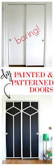 diy painted and patterned doors decor interior design doors and