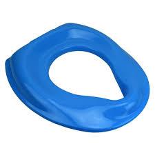 siege toilette bebe réducteur de toilette siège bébé enfant bleu salle de bain