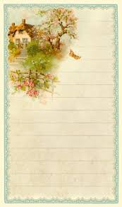 3 lined writing paper 105 best printable stationary images on pinterest writing papers rewards of the simple life english cottage journal card 3 x 5