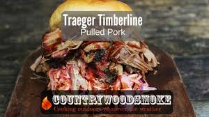 traeger timberline pulled pork youtube