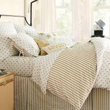 Polka Dot Comforter Queen The Emily U0026 Meritt Metallic Dottie Duvet Cover Sham Pbteen
