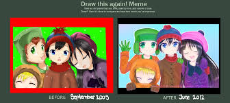 South Park Meme - draw this again meme south park by rimapichi on deviantart