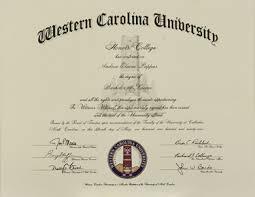 graduation diploma western carolina honors requirements