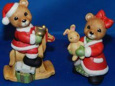 home interior figurines vintage homco home interiors 5502 bears figurine boy