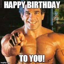 Gym Birthday Meme - funny bodybuilder birthday bodybuilder best of the funny meme