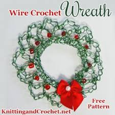 wire crochet knitting and crochet