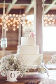 Wedding Cake Ideas Rustic Rustic Chic Indiana Barn Wedding Midwest Bride