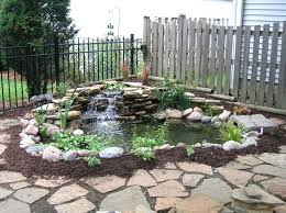 Diy Backyard Ponds Backyard Waterfalls Lowes Building Waterfalls And Ponds Backyard