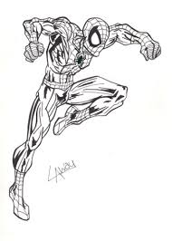 ultimate spiderman inked angelcrusher deviantart