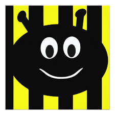 bumble bee birthday invitations u0026 announcements zazzle co uk