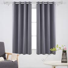 amazon com deconovo solid room darkening curtains thermal