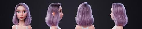 hair tutorial artstation blender hair tutorial nazar noschenko