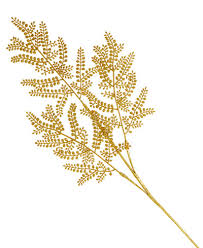 holiday lane gold glitter fern christmas tree pick created for