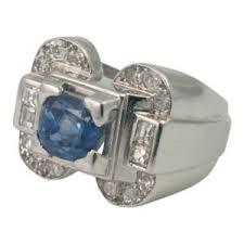 art deco emerald and diamond ring plaza jewellery